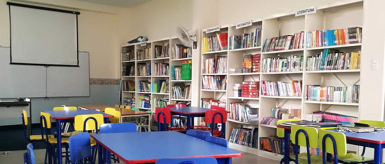Colegio Carlos Lisson Ambiente Biblioteca